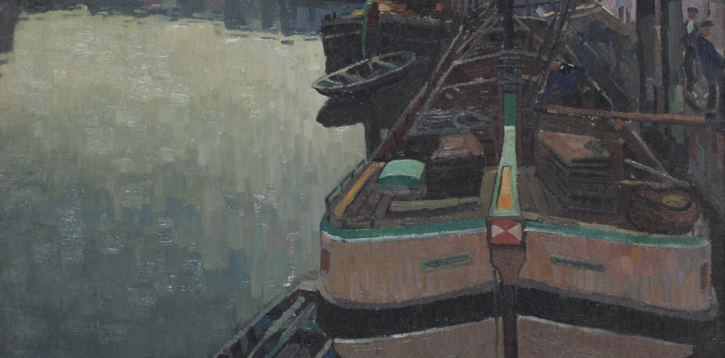 Uitzicht Haarlemmer Houttuinen, 1918/1919